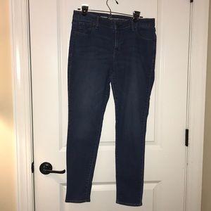 Old Navy Super Skinny Jeans 12
